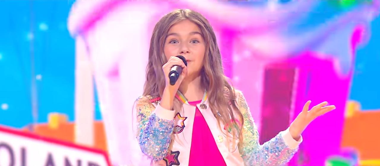 Występ reprezentantki Francji na Eurowizji Junior