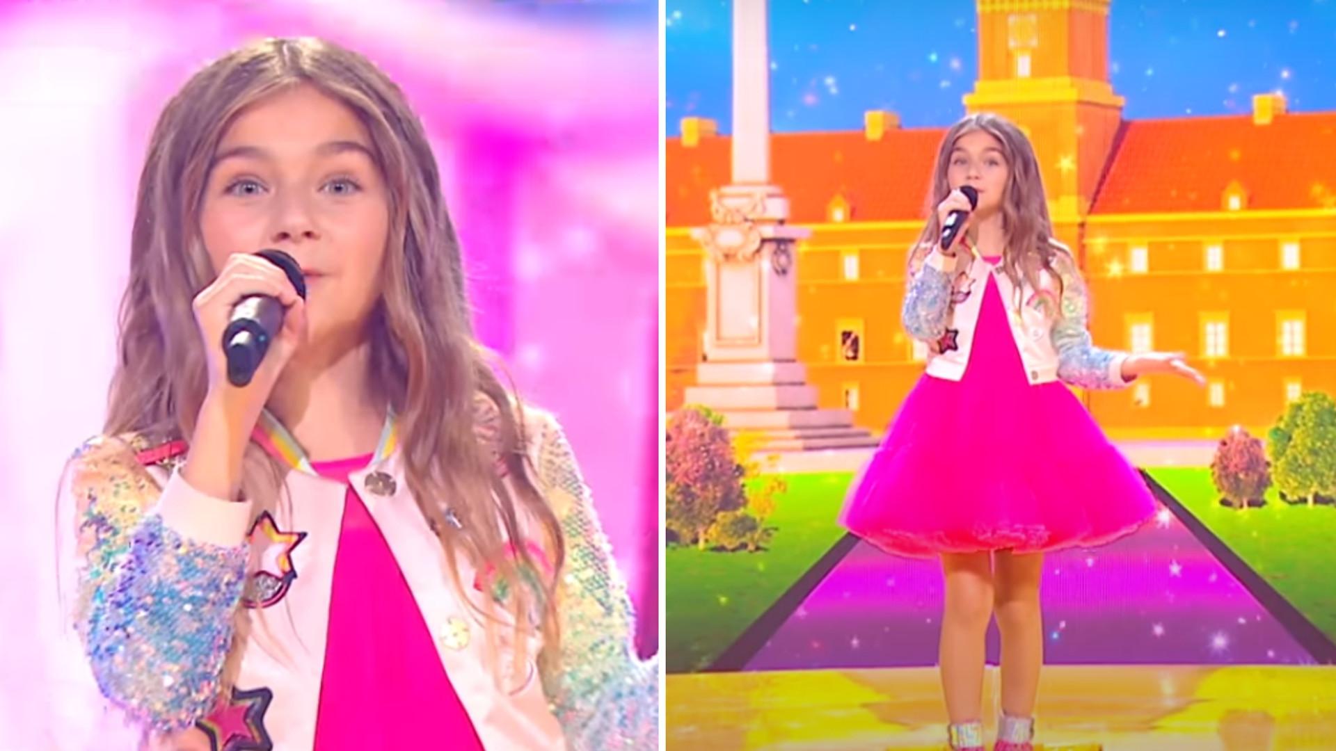 Zwyciężczyni Eurowizji Junior zaśpiewała z playbacku? Nie brakuje takich komentarzy