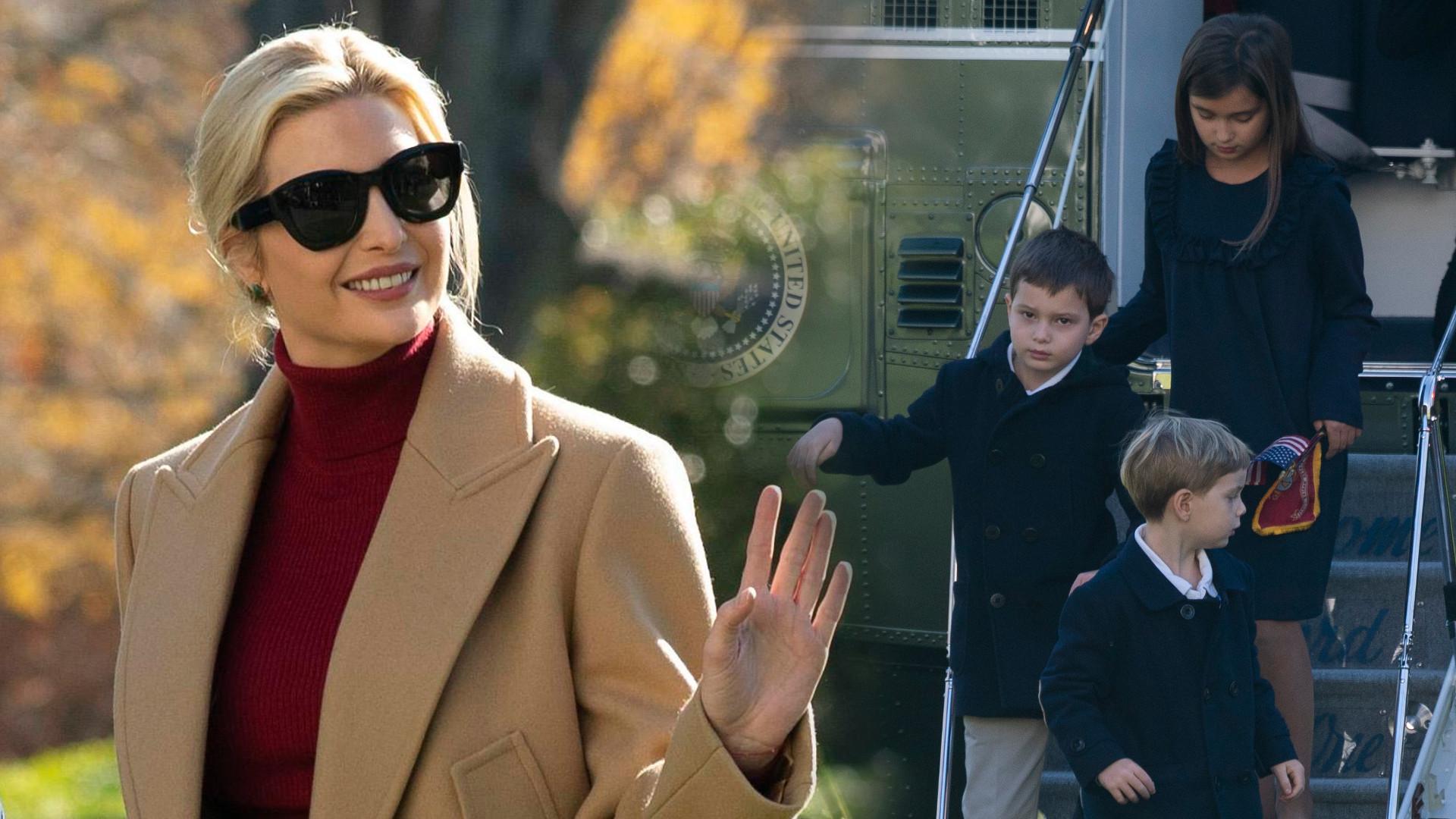 Donald Trump zaprosił wnuki do Białego Domu. Córka Ivanki Trump jest prześliczna (ZDJĘCIA)