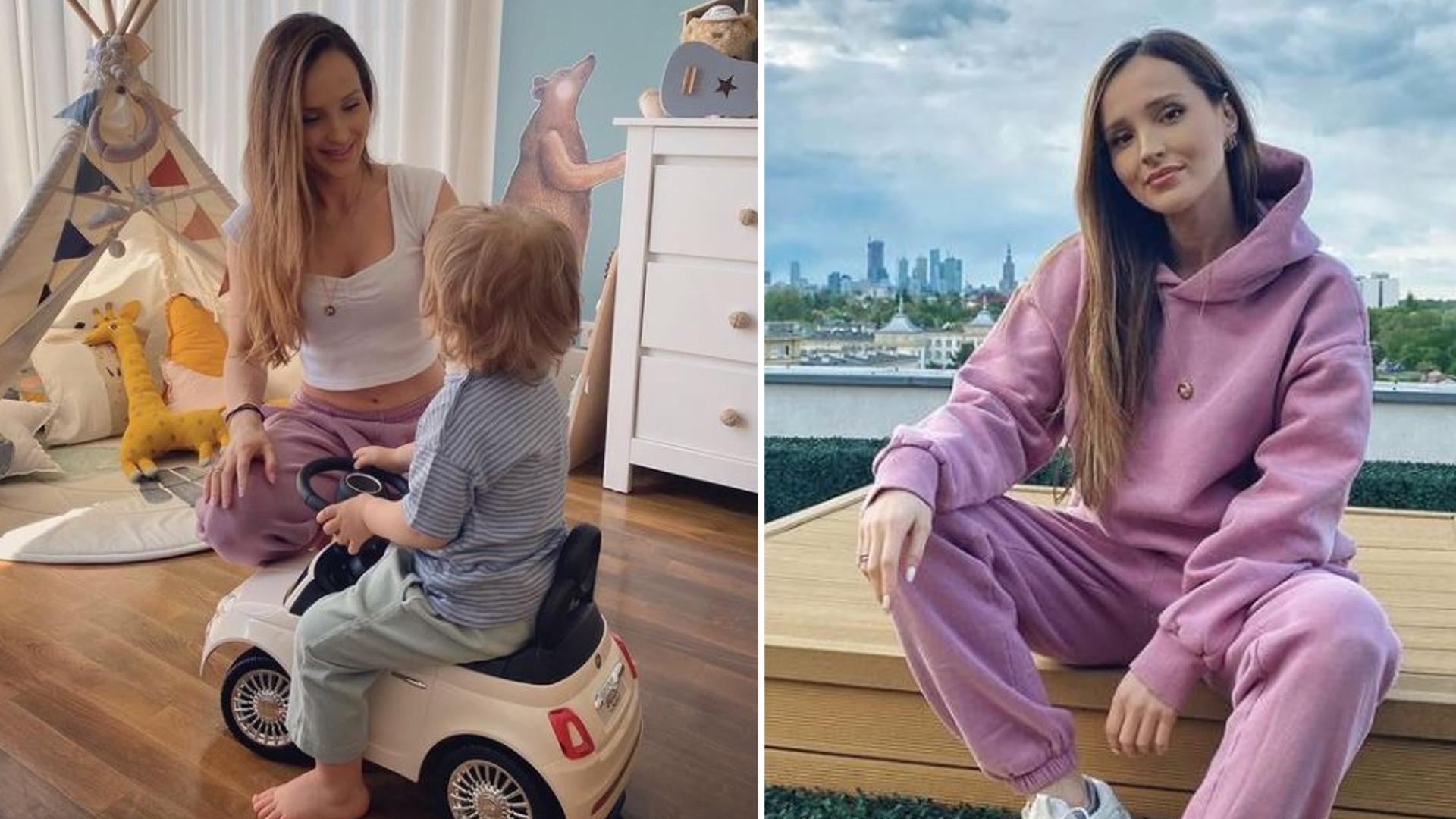 Marina spędza rodzinny czas z mężem i synem. Pokazała luksusowy wózek Liama