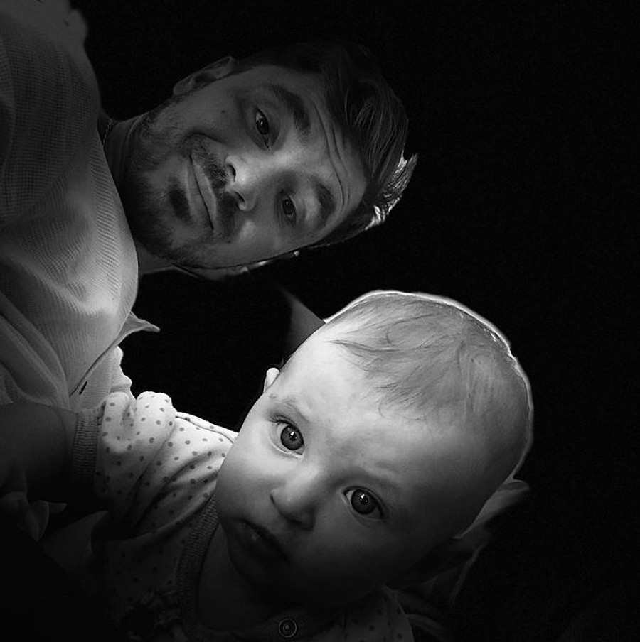 Daniel Martyniuk z córką Laurą.