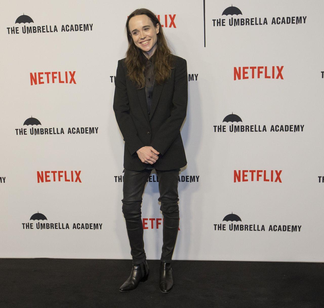 Ellen Page na ściance