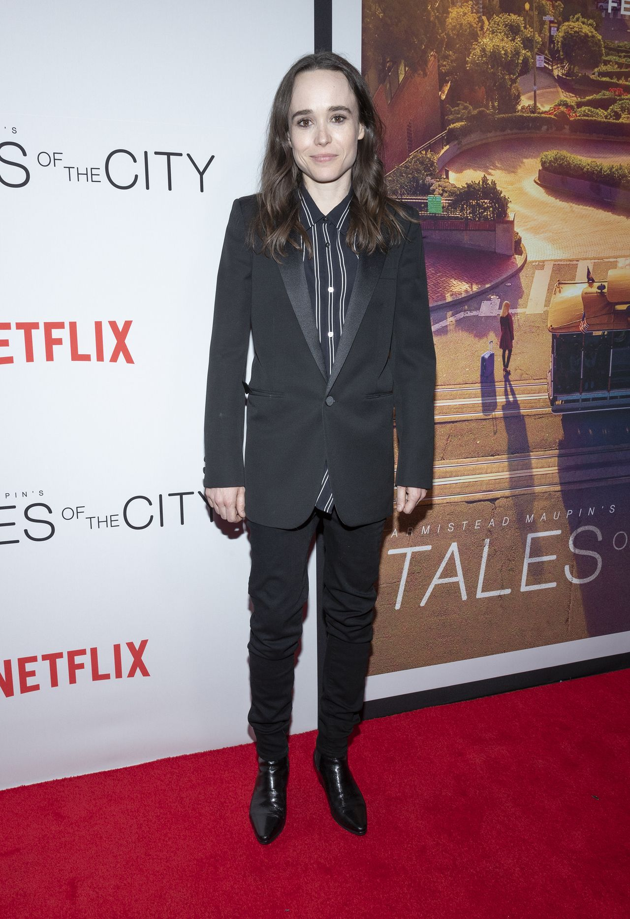 Ellen Page na premierze filmowej