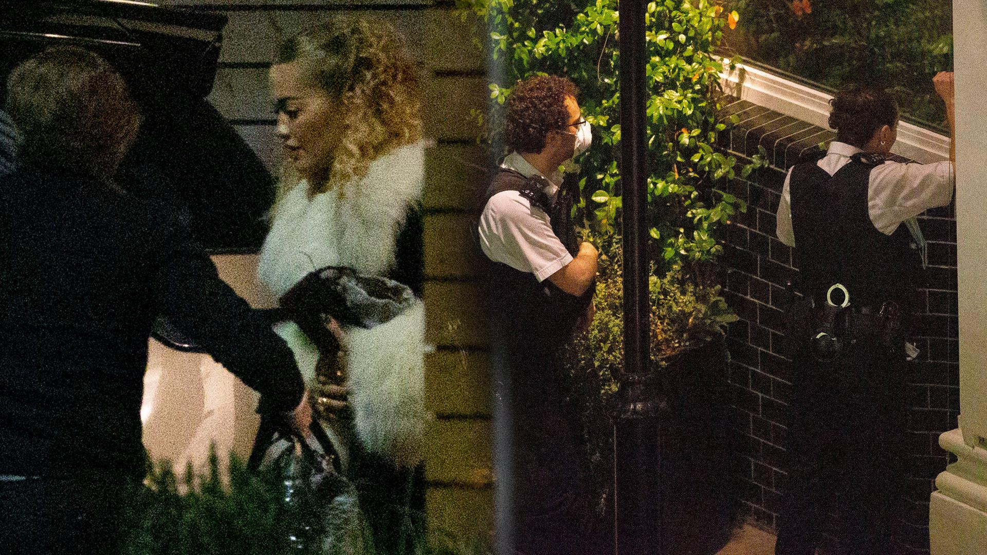 Rita Ora zorganizowała nielegalną imprezę w czasie PANDEMII. Zapukała policja (ZDJĘCIA)