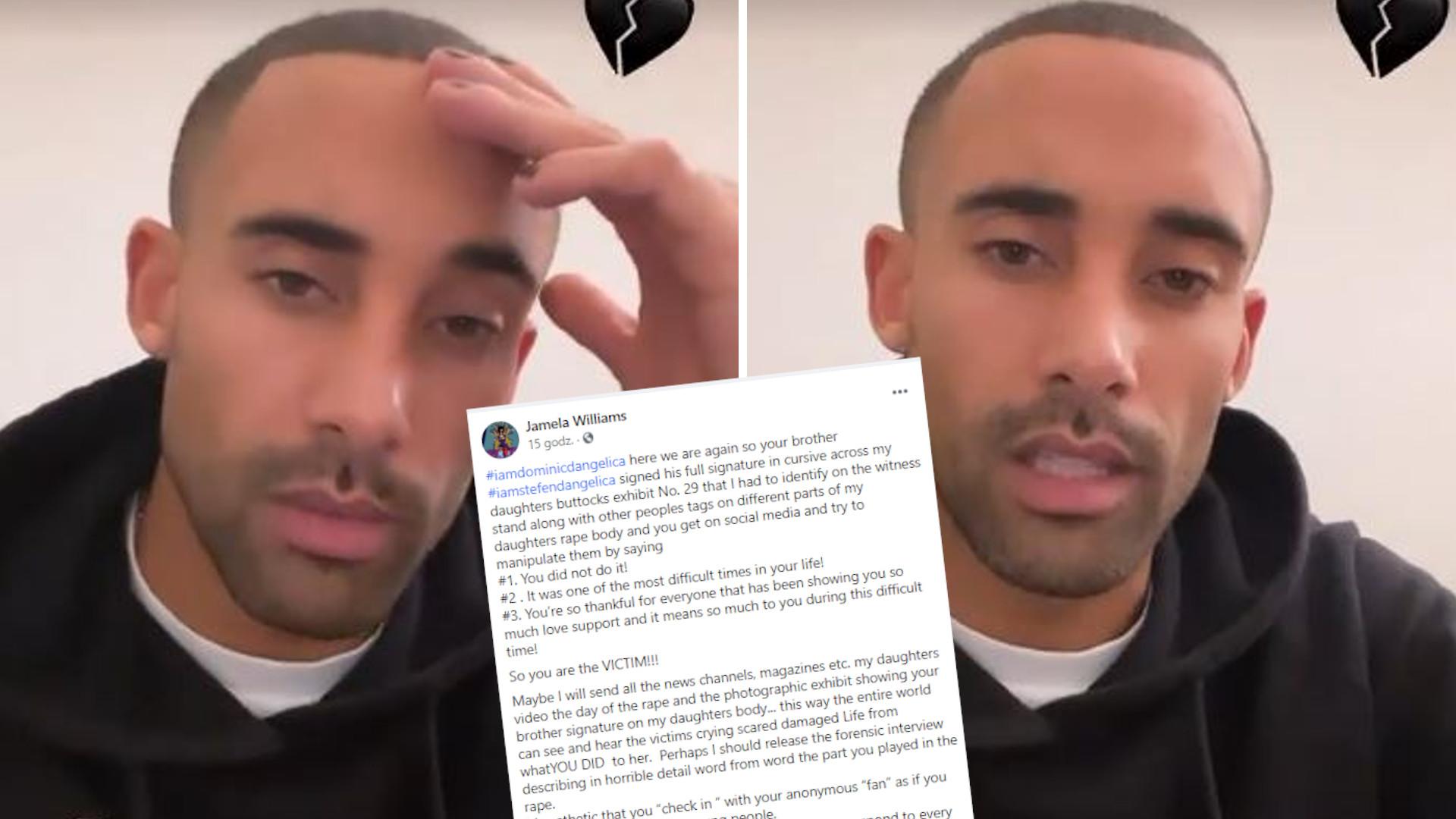 Dominic D'Angelica wrócił na Instagram. Matka jego ofiary REAGUJE na wideo, które zamieścił