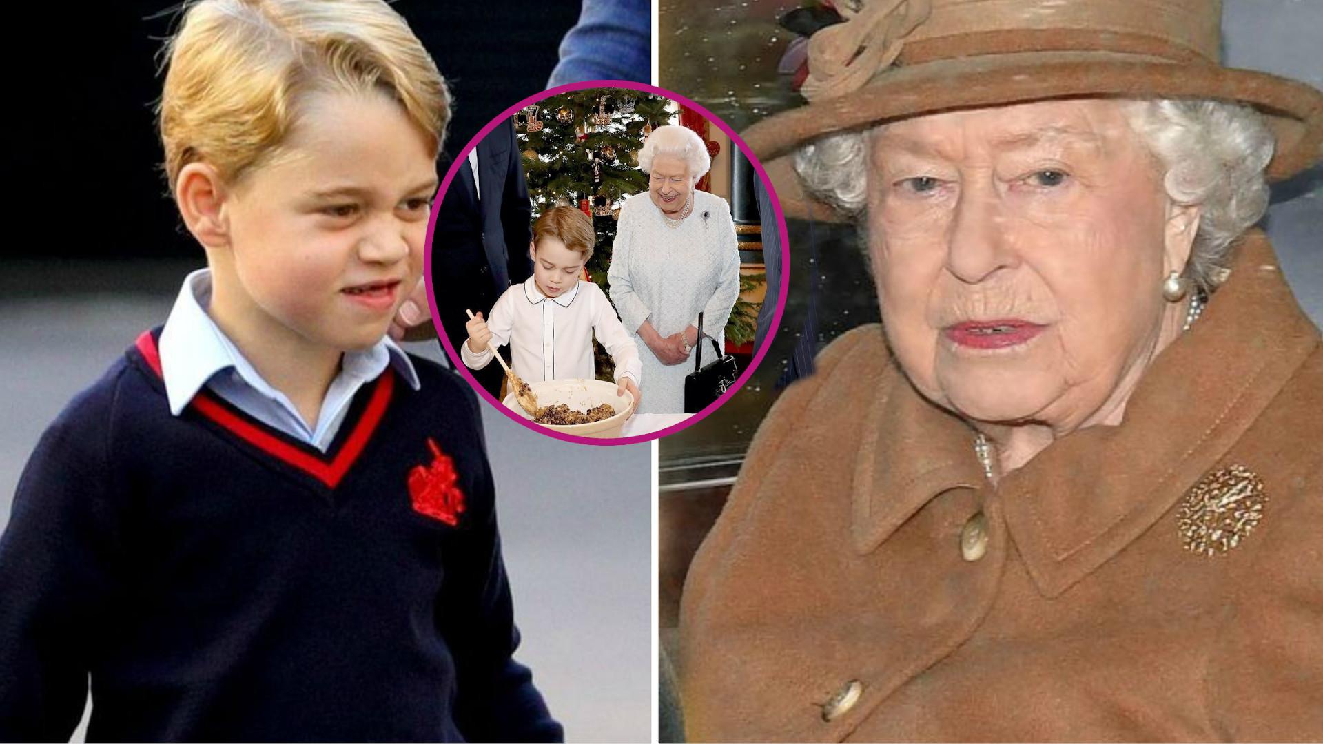 Książę George nie zje w Pałacu swojej ulubionej potrawy. Królowa nie chce, by znalazła się w menu