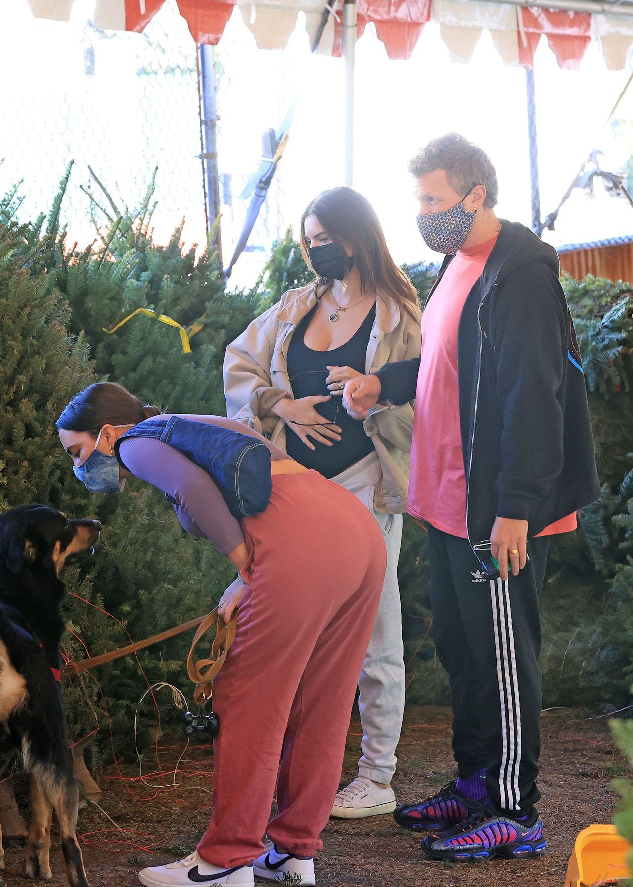 Emily Ratajkowski z mężem wybiera choinkę