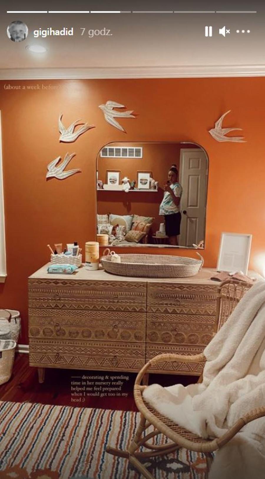 Pokój córki Gigi Hadid.