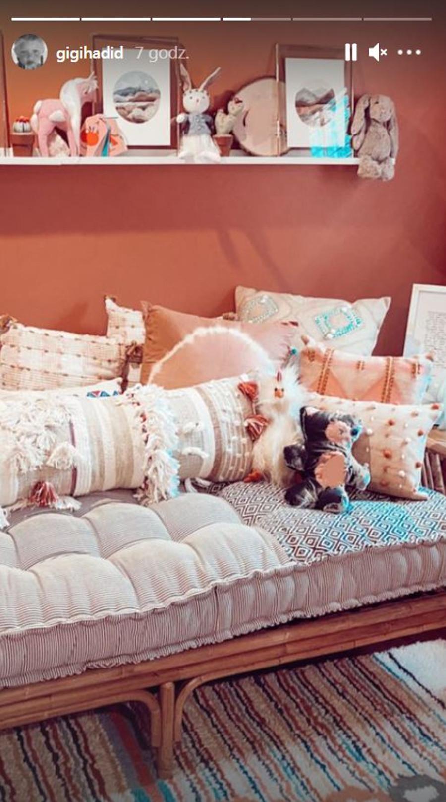 Gigi Hadid pokazała uroczy pokój córki.
