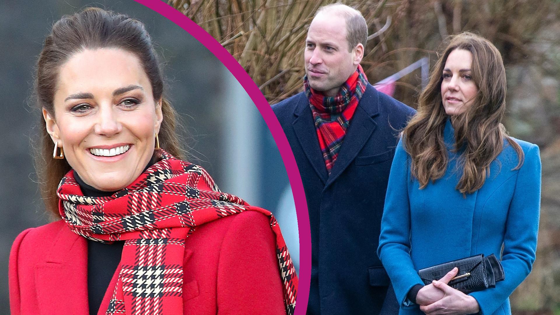 """""""Oszczędna"""" Kate Middleton w TRZECH płaszczach w ciągu dwóch dni. Stylowa?"""