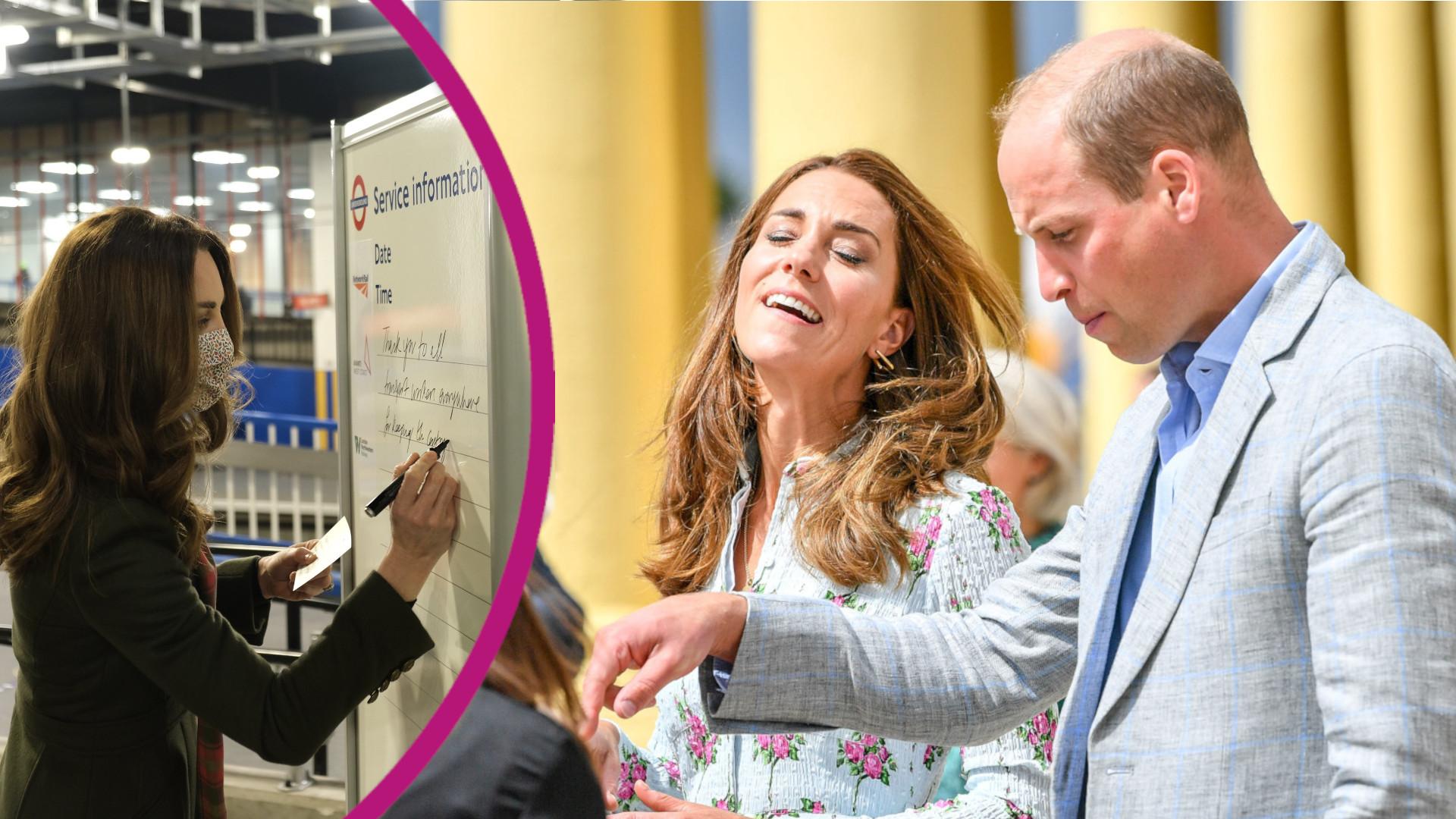 Kate Middleton zaliczyła WPADKĘ. Ma problemy z pisownią?