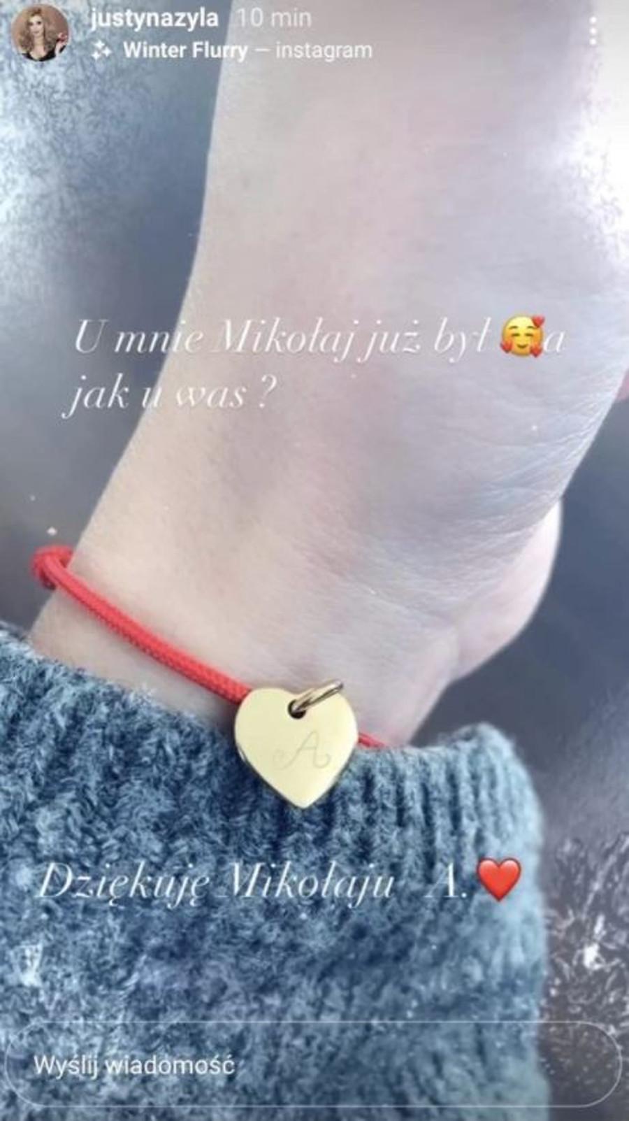 Justyna Żyła pokazała prezent od nowego chłopaka.