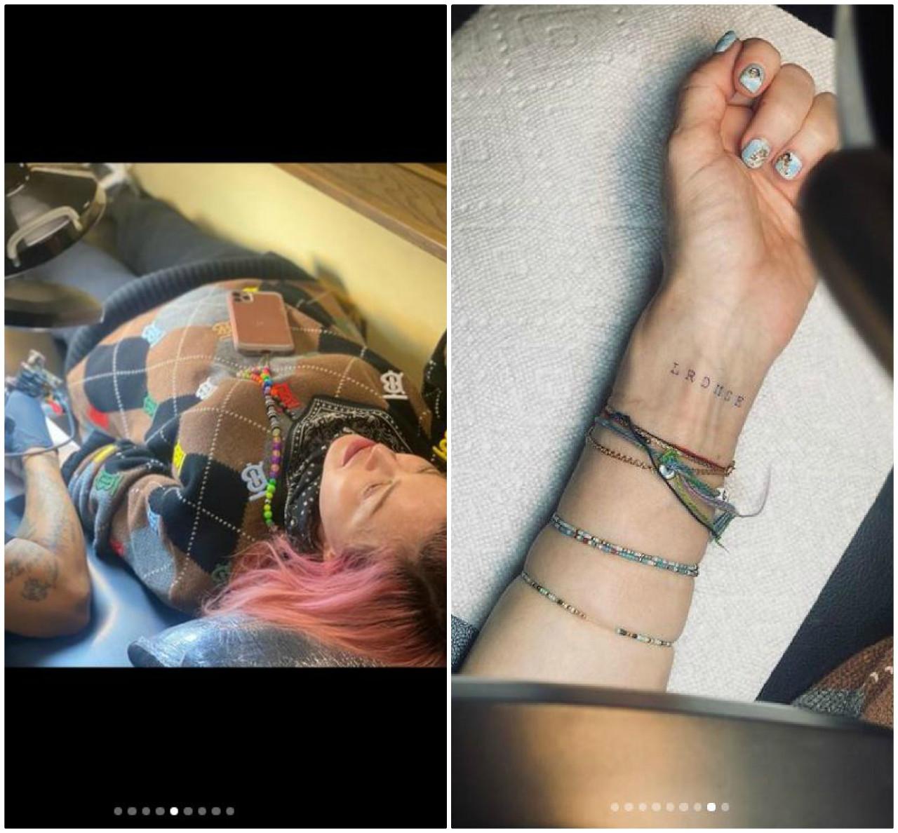Madonna pokazała pierwszy tatuaż na ciele.