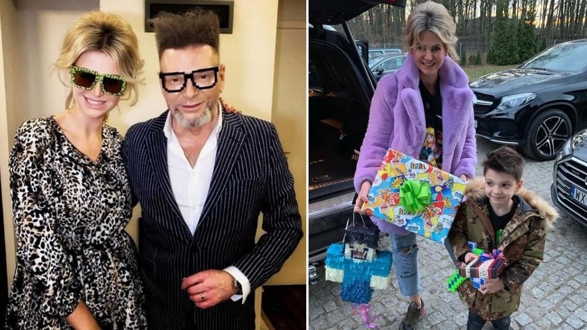Maja Rutkowska pochwaliła się przyjęciem urodzinowym dla syna. Dekoracje, tort i uzbrojona po zęby ochrona