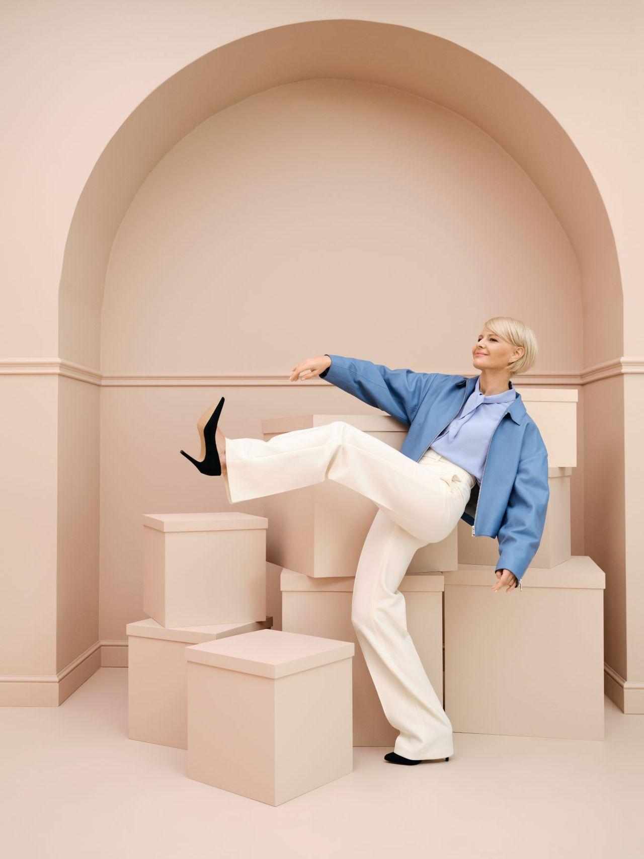 Małgorzata Kożuchowska w kampanii reklamowej