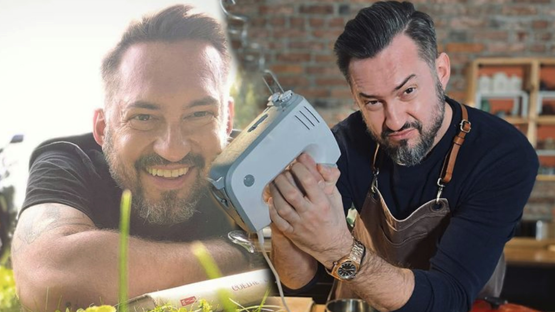 Marcin Prokop pokazał swoją kuchnię. Ciepłe wnętrza z drewna
