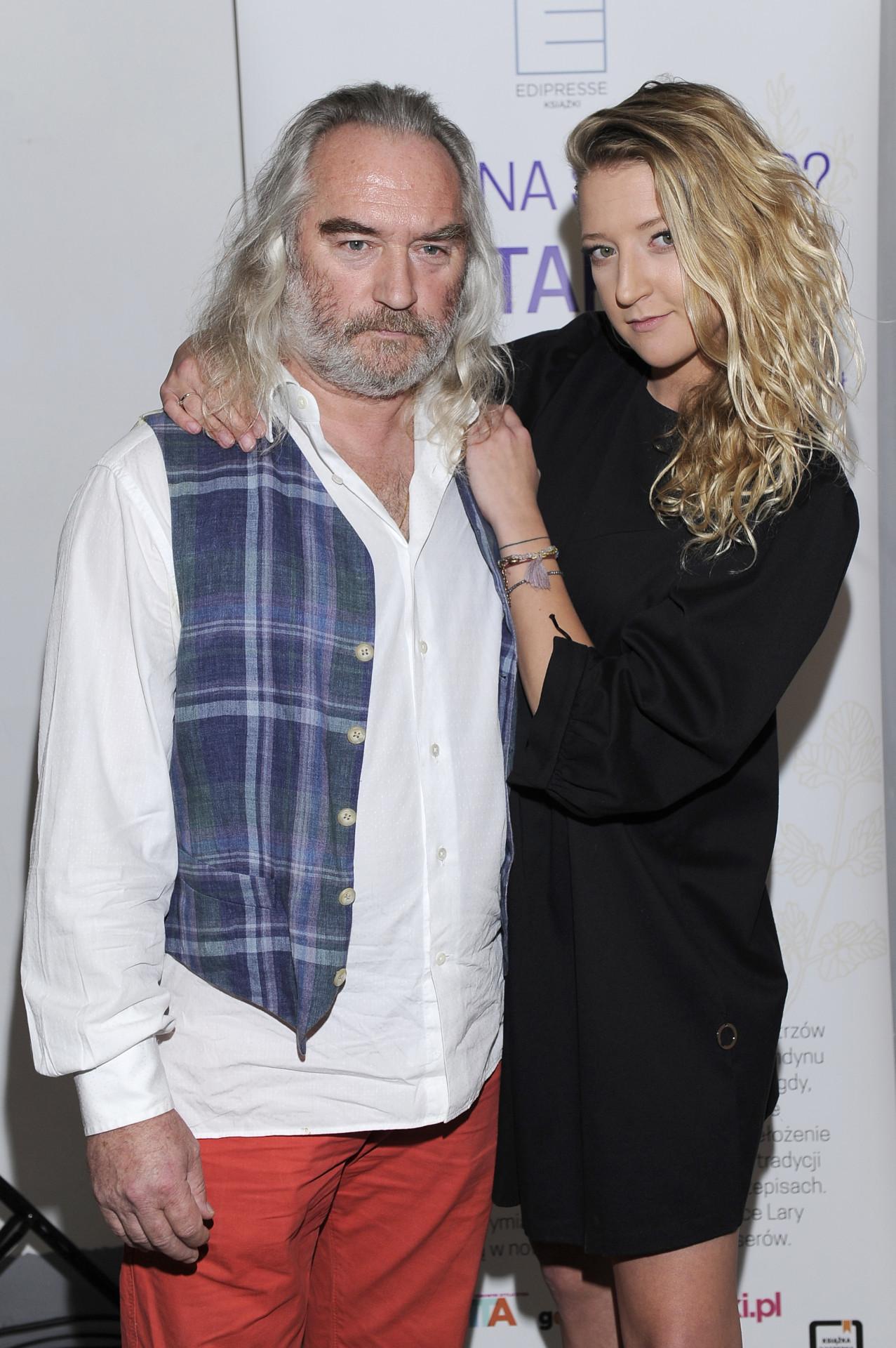Lara Gessler z ojcem
