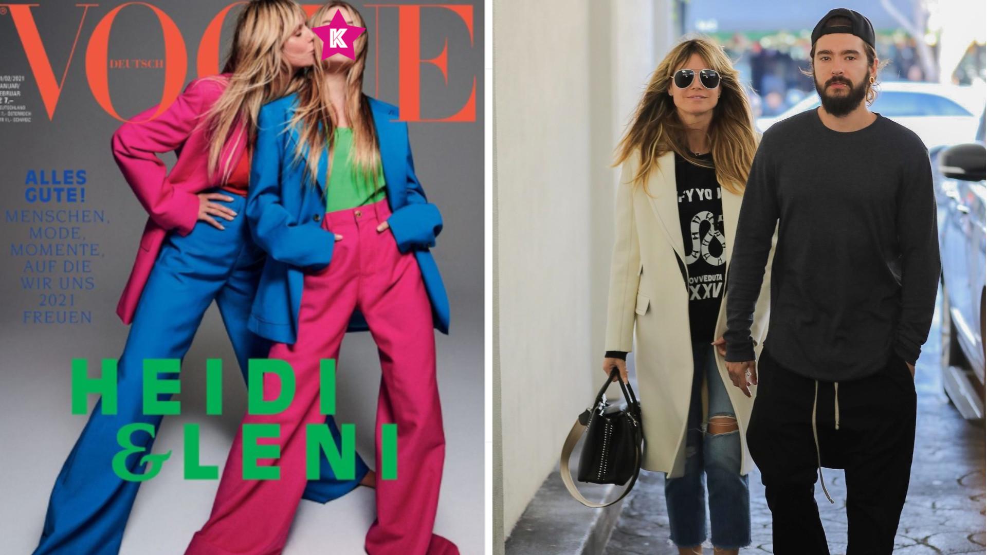 Tak wygląda córka Heidi Klum! Zadebiutowała na okładce Vogue'a!