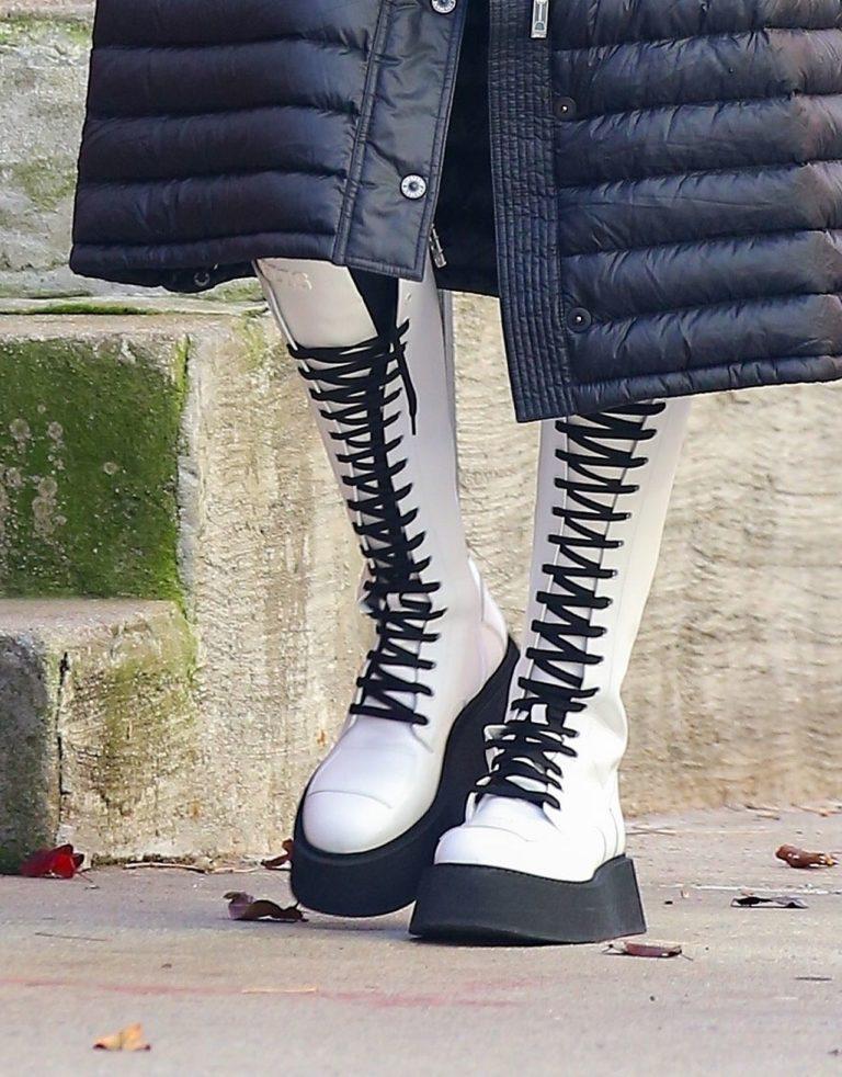 Odważne buty Iriny Shayk