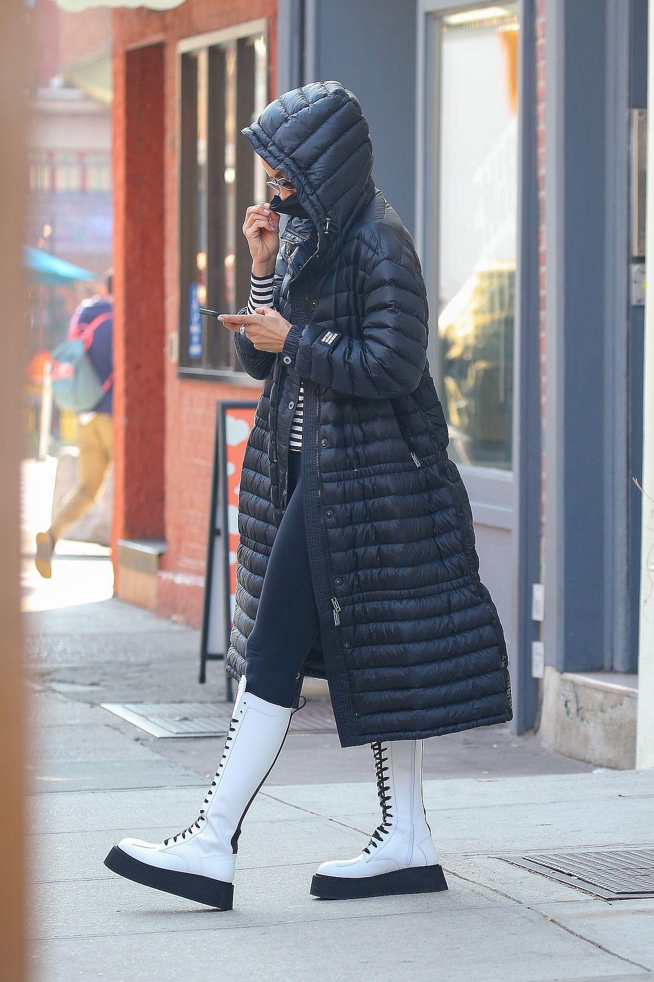 Irina Shayk w Nowym Jorku