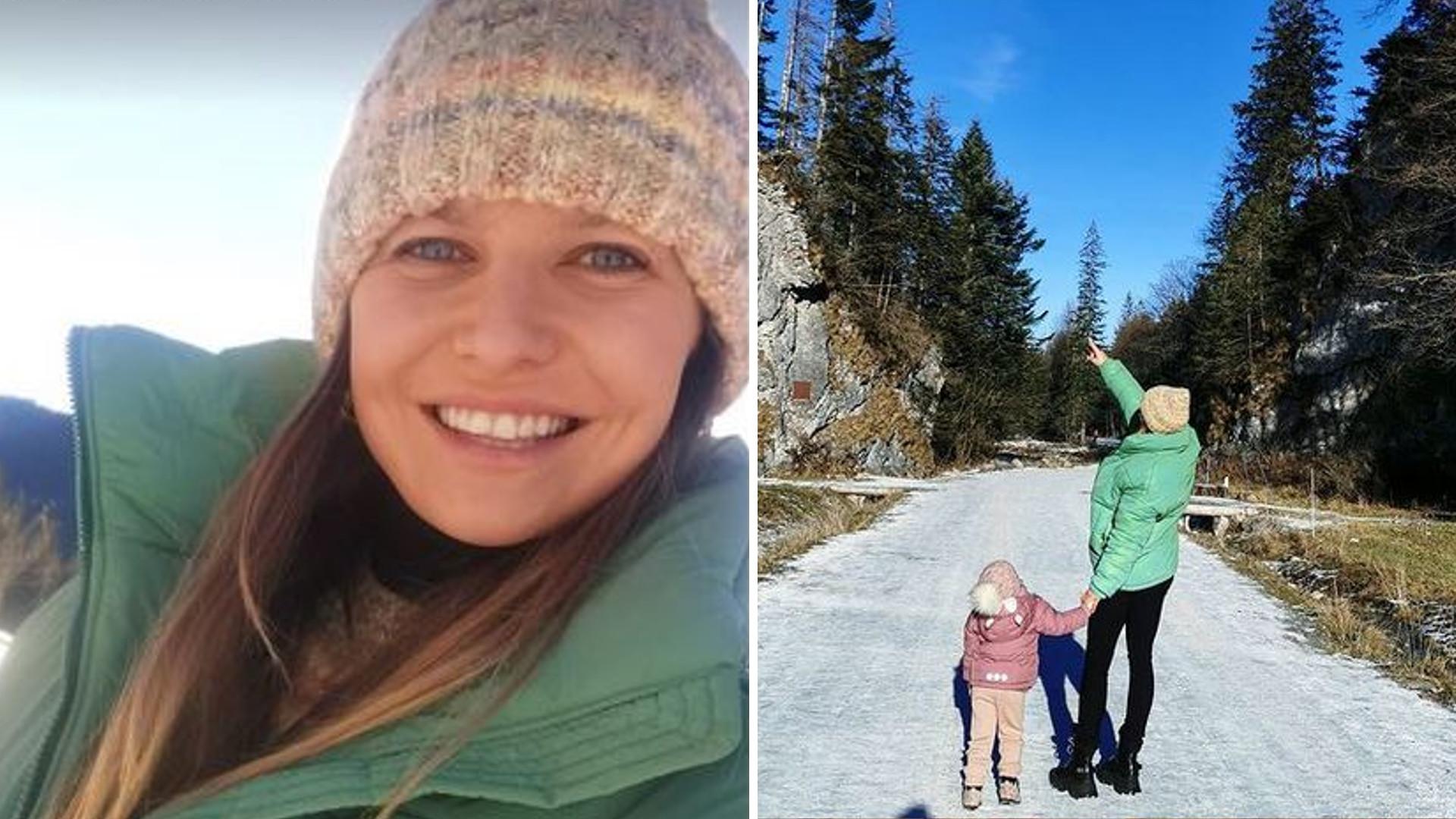 Anna Lewandowska spędza czas z córeczkami w górach. BAJKOWA sceneria