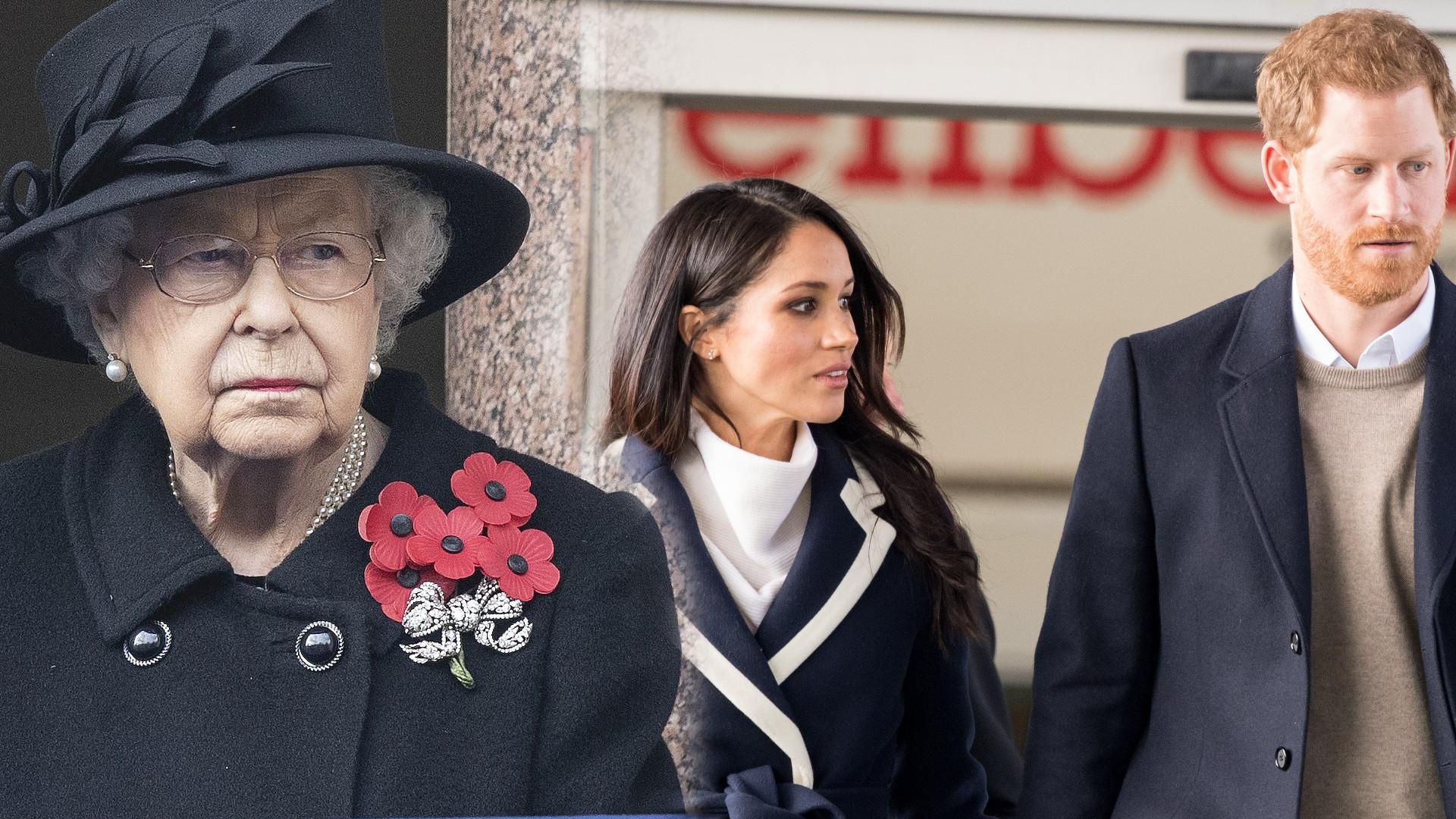 Królowa Elżbieta jest ZAŁAMANA nadchodzącymi świętami. Harry bardzo ją rozczarował