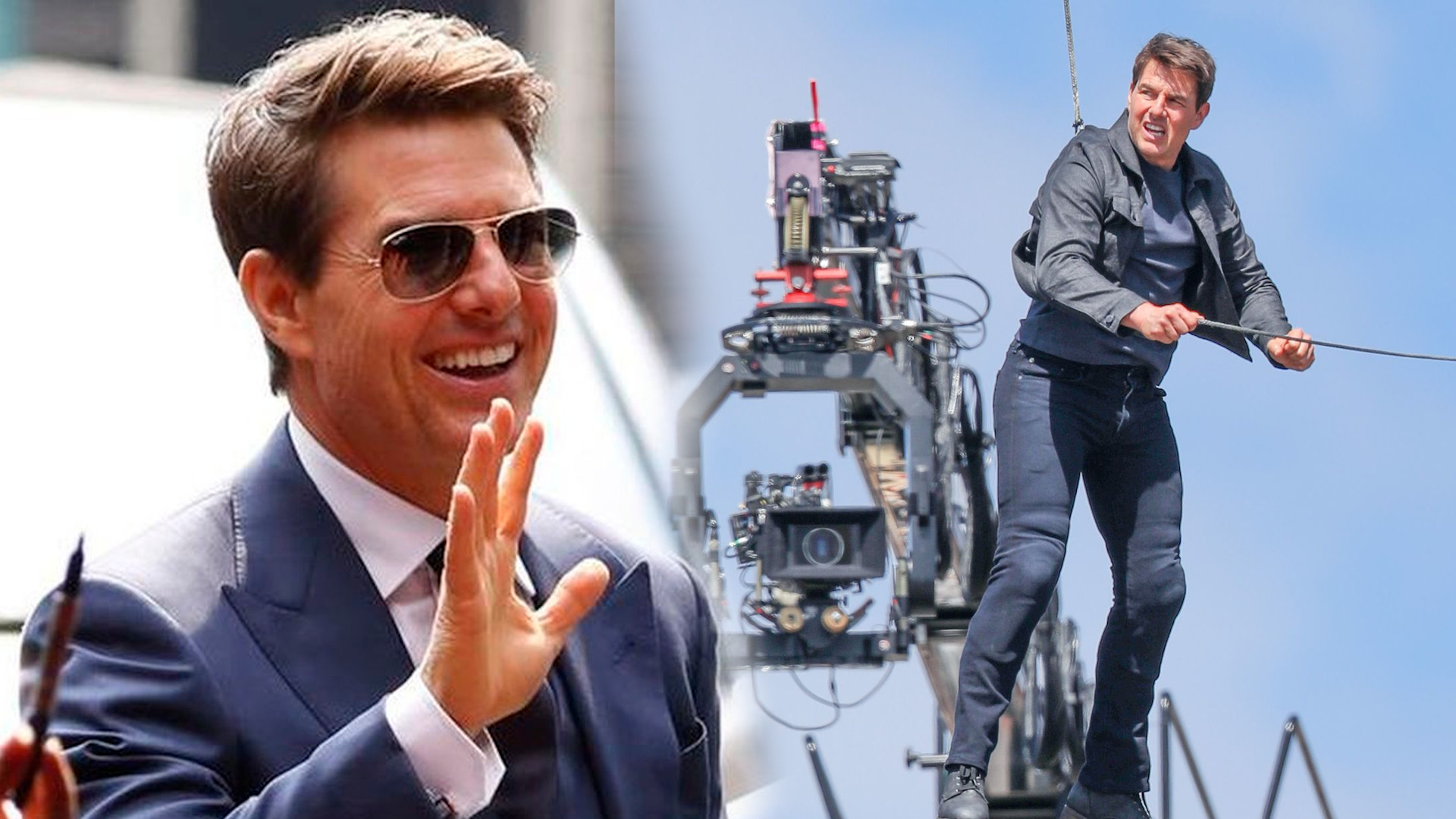 Wyciekło nagranie z planu Mission: Impossible 7. Tom Cruise krzyczy na ekipę filmową