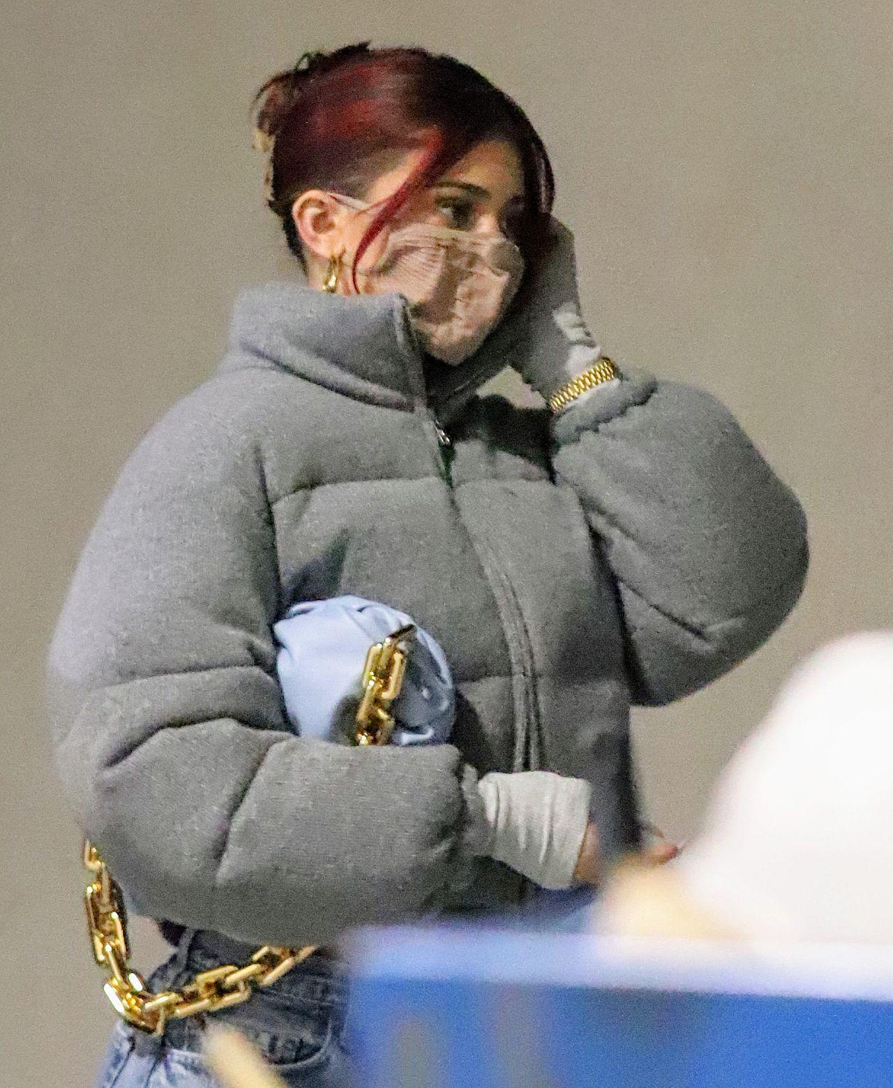 Kylie Jenner na świątecznych zakupach.