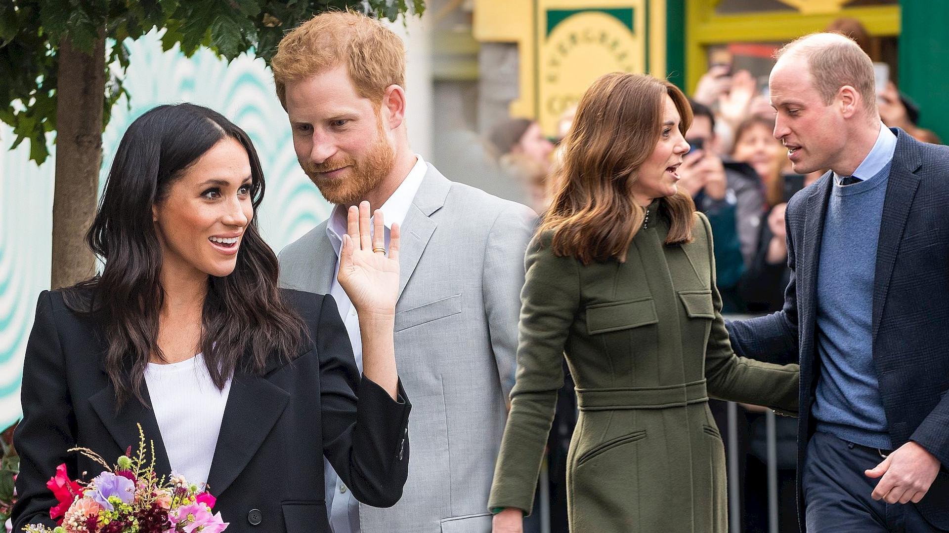 Kate i William oraz Meghan i Harry wręczyli sobie świąteczne PREZENTY