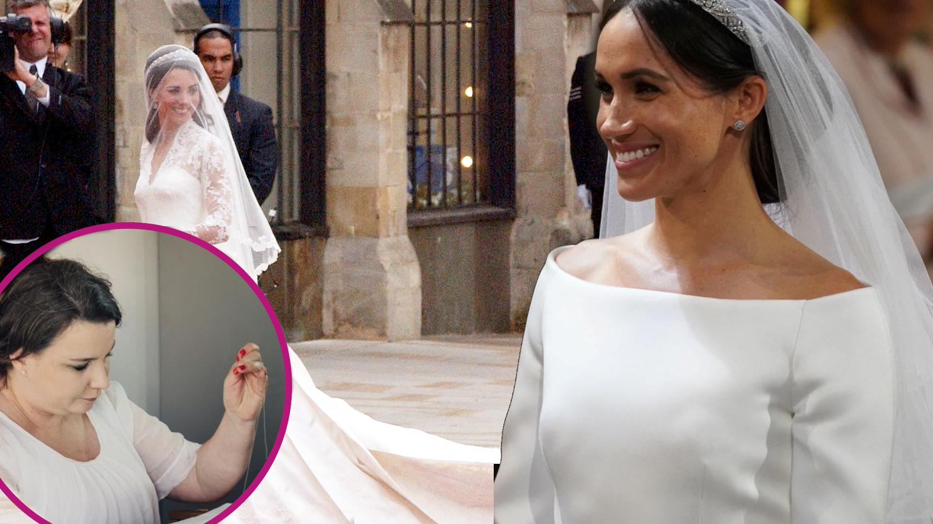 SZOK! Projektowała suknie ślubne Kate Middleton i Meghan Markle. Dziś nie ma za co żyć