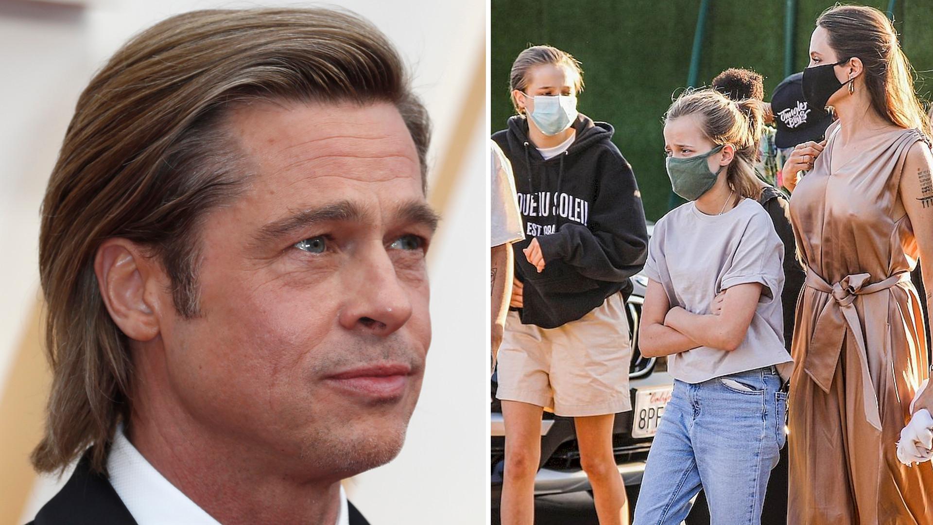 Jak będą wyglądały święta Brada Pitta? Spędzi je z dziećmi i z… Jennifer Aniston?