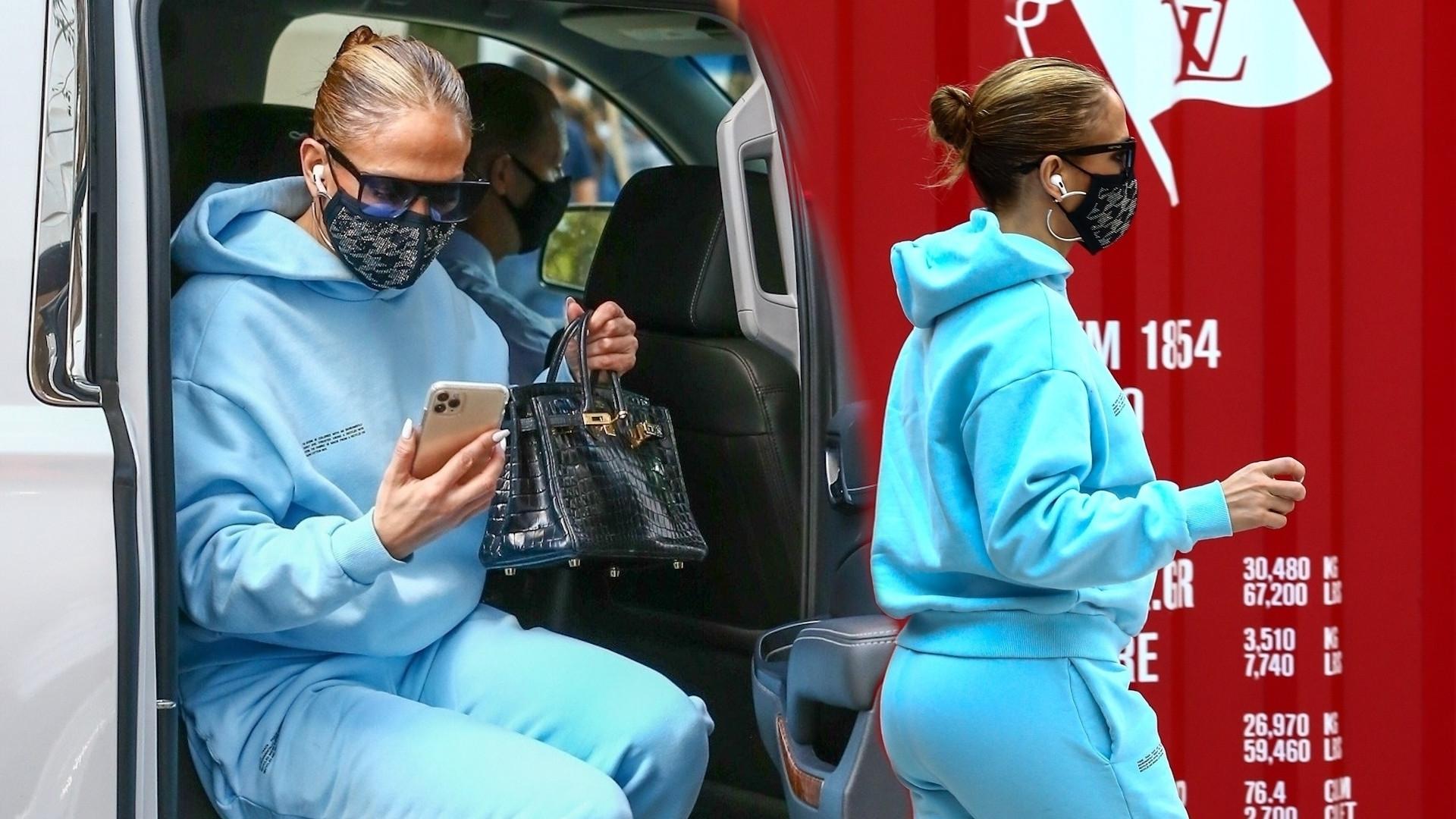 Jennifer Lopez na przedświątecznych zakupach z DZIEĆMI. Bliźniaki podobne do mamy?