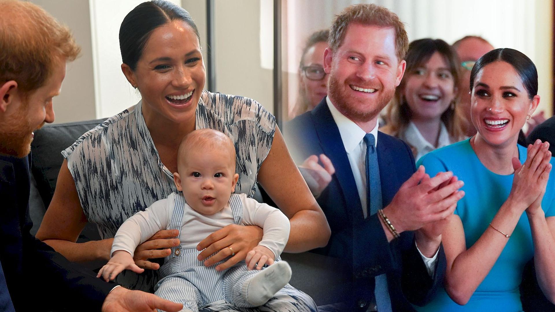 Meghan Markle i książę Harry pokazali świąteczną KARTKĘ! Archie ma rude włosy