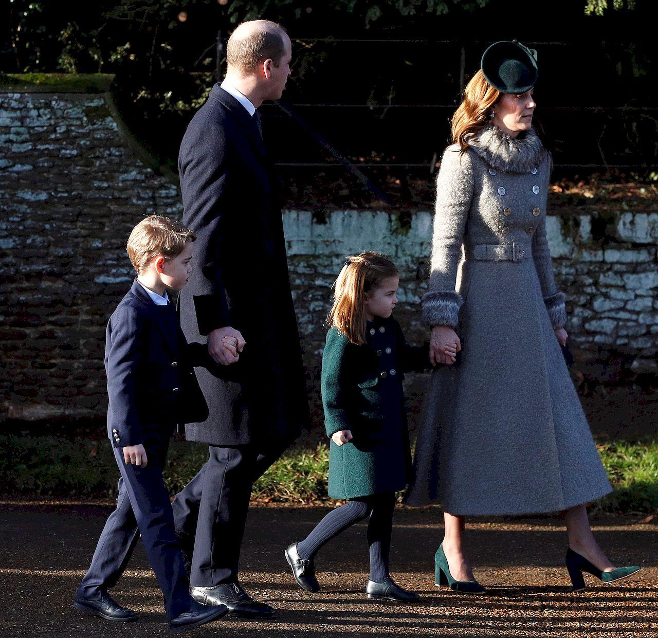 Księżna Kate z rodziną w Sandringham