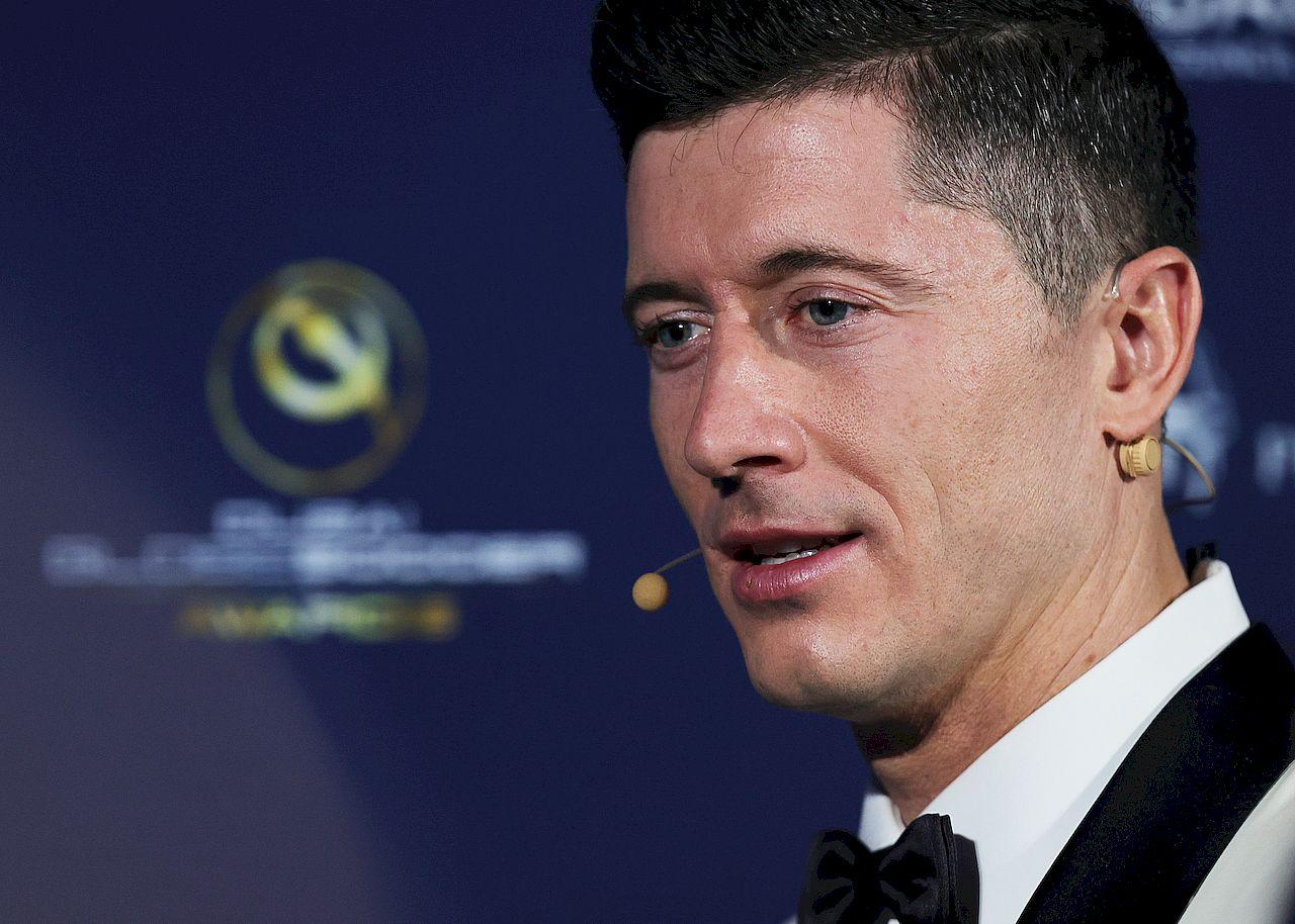 Globe Soccer Awards - Robert Lewandowski
