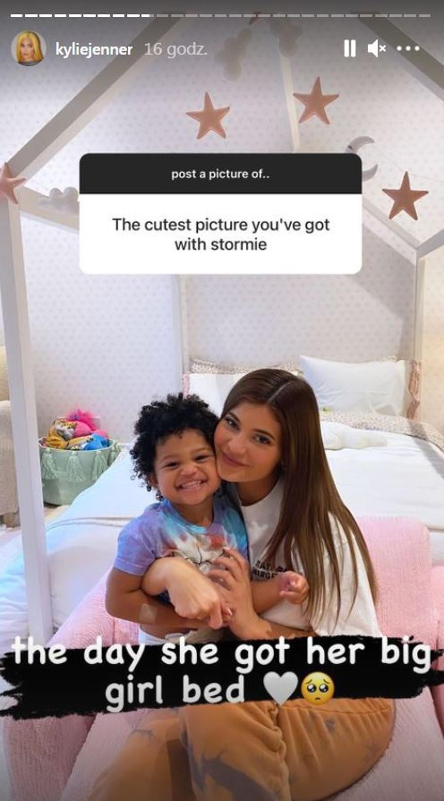 Kylie Jenner na uroczym zdjęciu z Stormi.