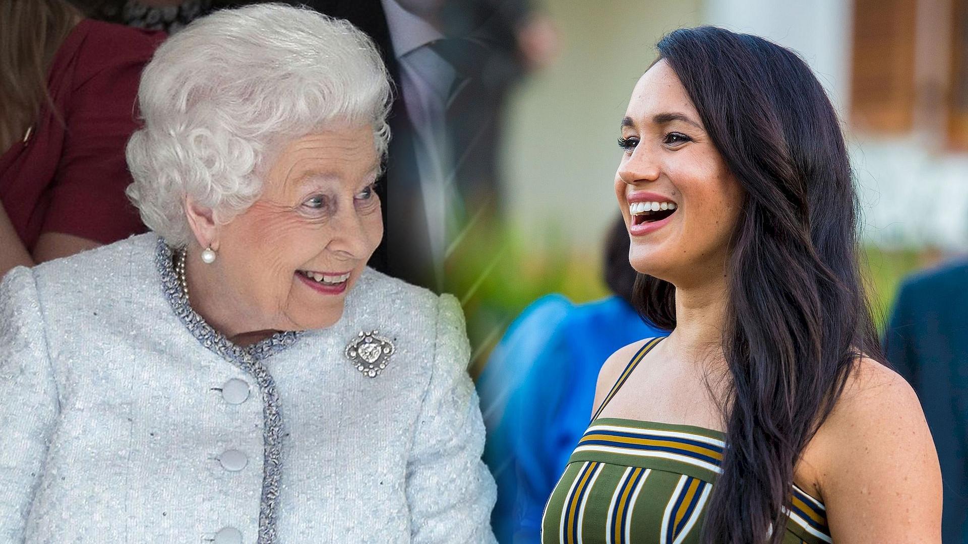 Meghan Markle podarowała królowej na święta NIETYPOWY prezent