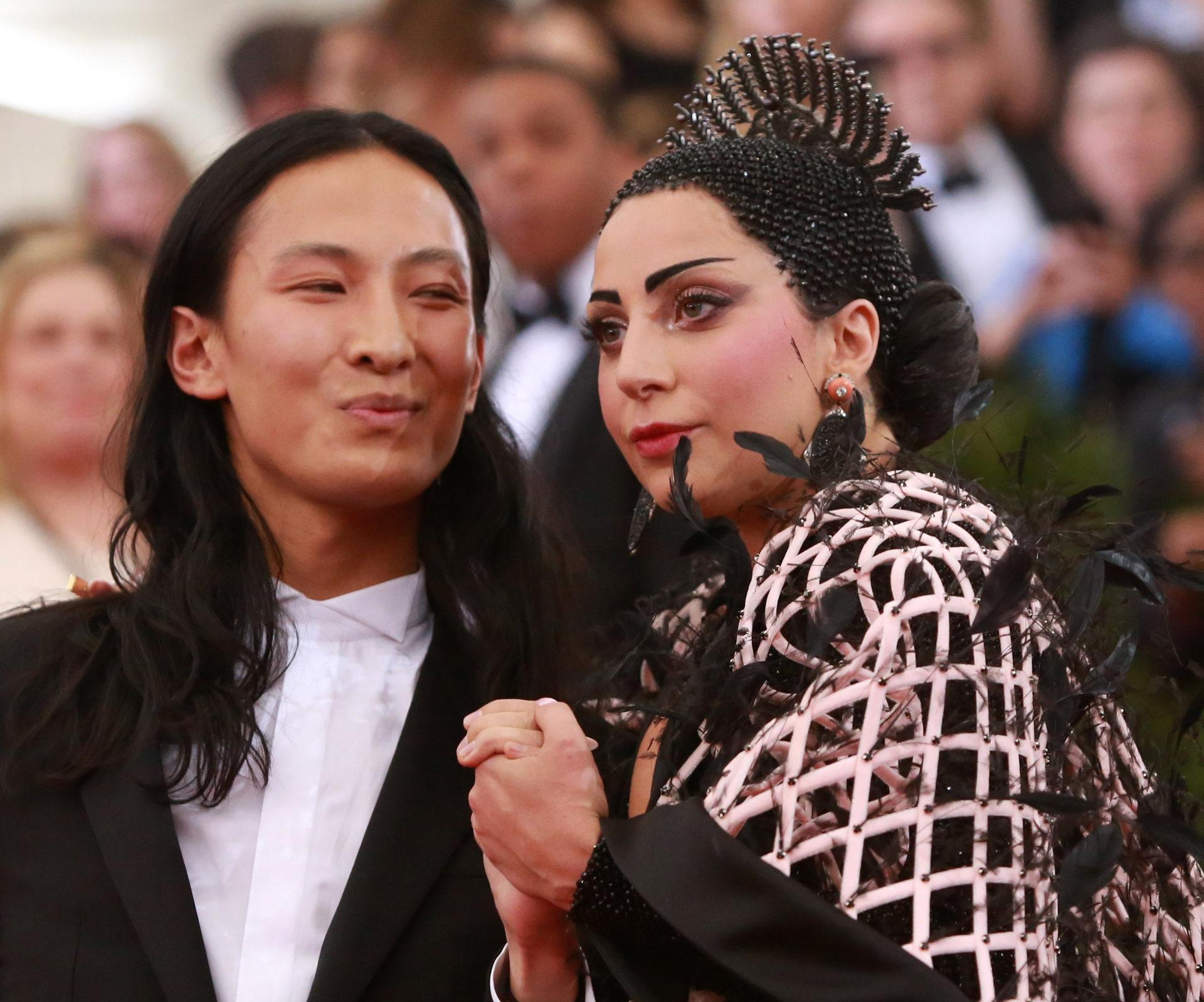 Alexander Wand i Lady Gaga na Met Gala, fot. Andrew Kelly / Reuters / Forum