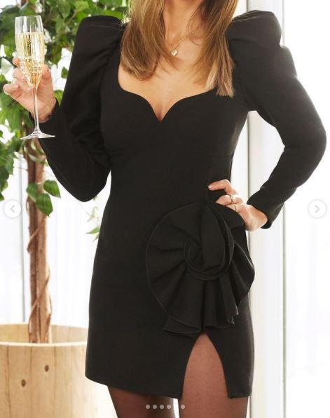 Jessica Alba w sukience Magdy Butrym