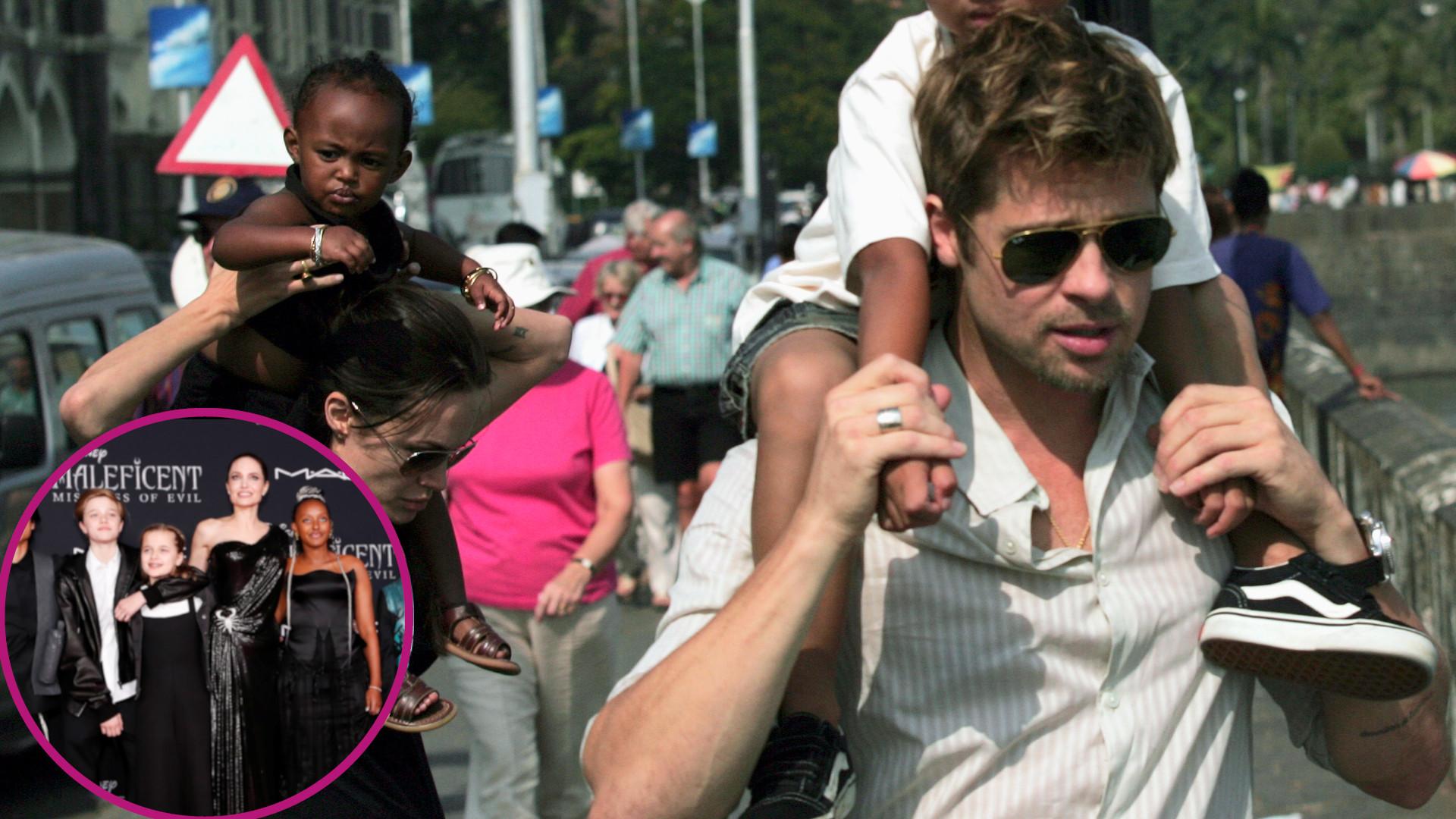 OMG, ale urosły! Jak zmieniły się dzieci Angeliny Jolie i Brada Pitta? DUŻO ZDJĘĆ