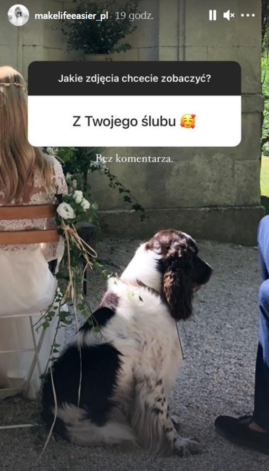Kasia Tusk pokazała fotkę z swojego ślubu.