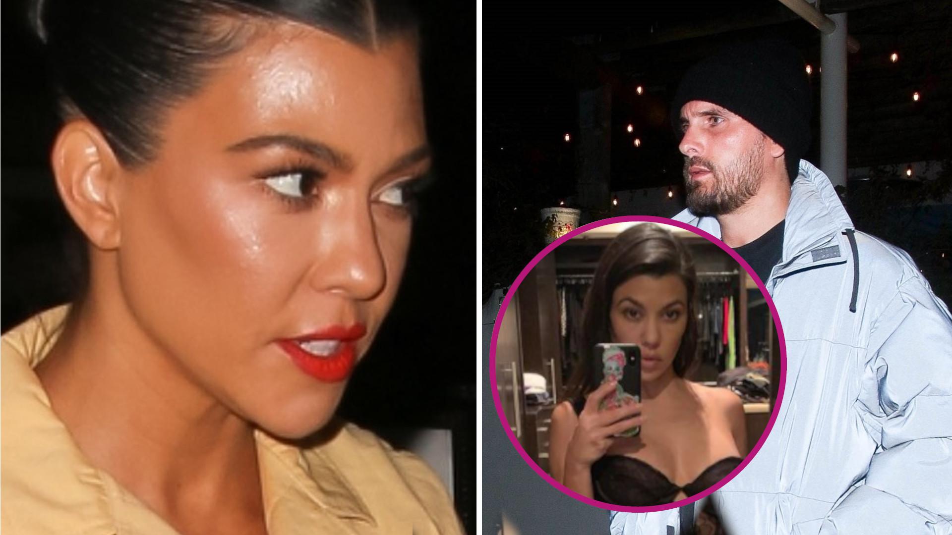 Seksowna Kourtney Kardashian KUSI na Instagramie. Woła o uwagę Scotta?