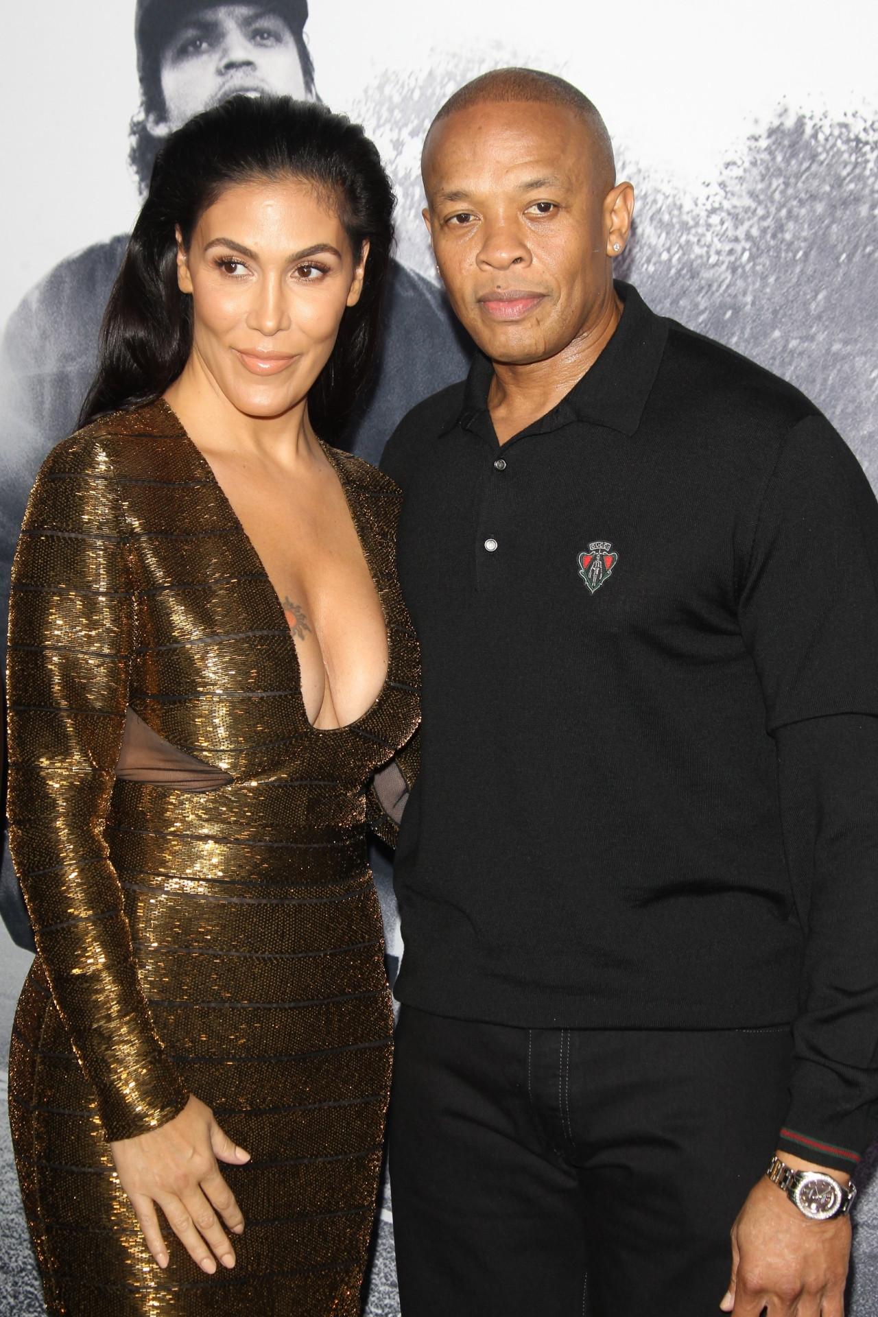 Dr. Dre z żoną