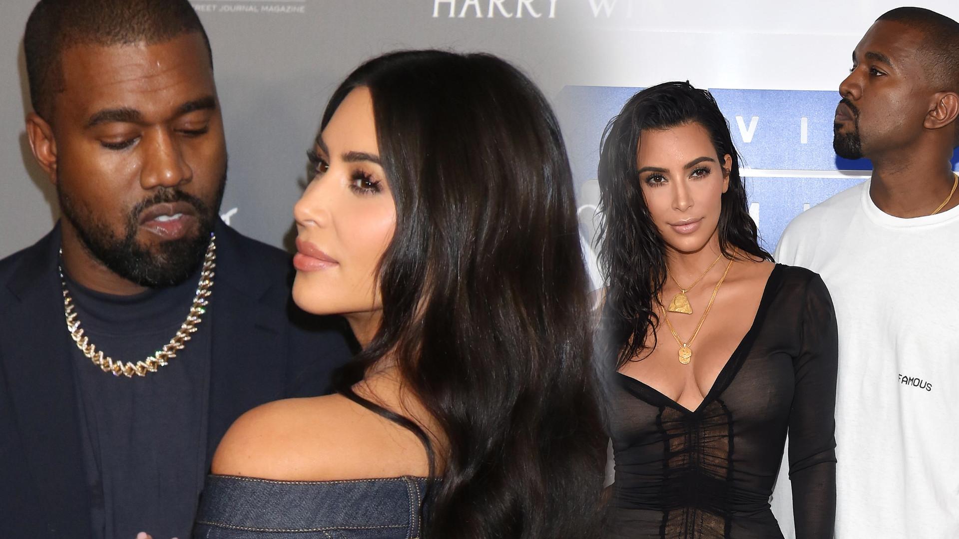 Kim Kardashian i Kanye West ROZWODZĄ się po 6 latach małżeństwa!