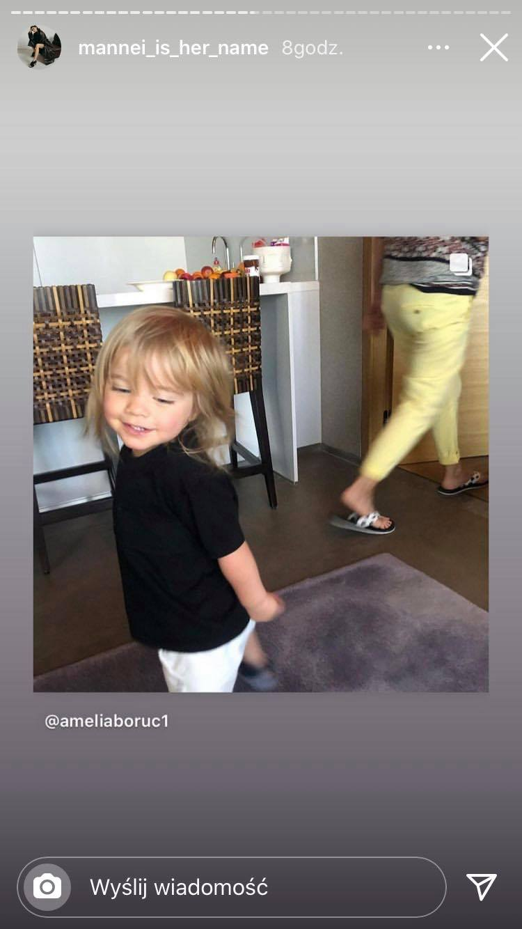 Instagram Amelii Boruc, fot. Instagram