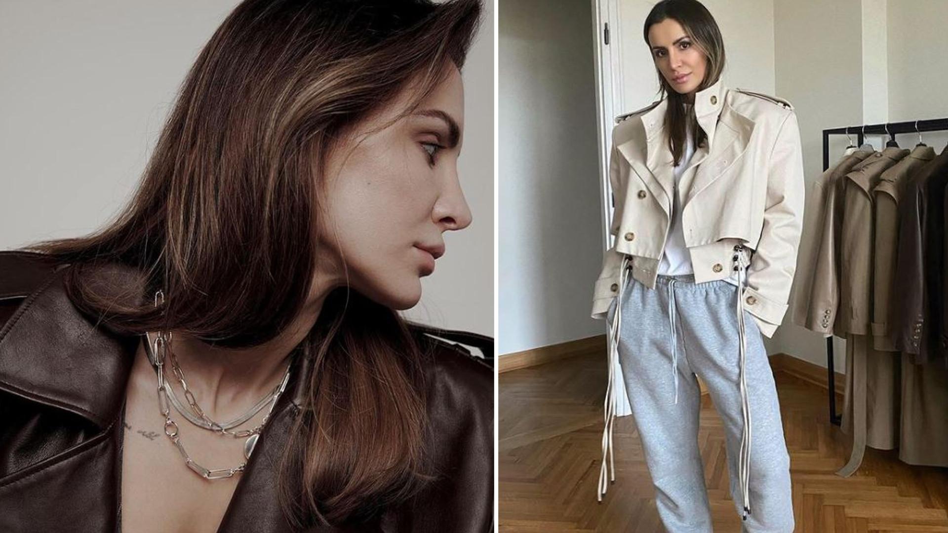 """Modelka Victoria's Secret w kożuchu marki Sary Boruc: """"Idziesz jak burza"""""""