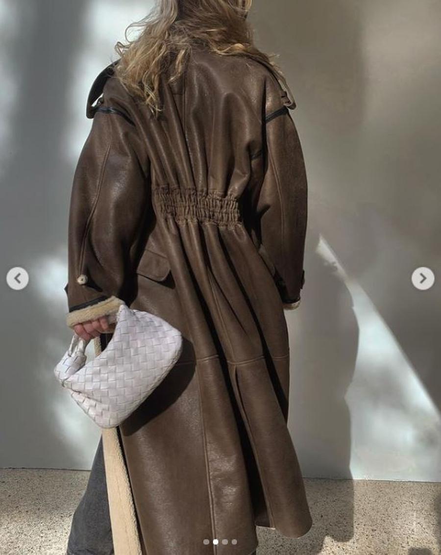 Aniołek Victoria's Secret w kożuchu Sary Boruc.