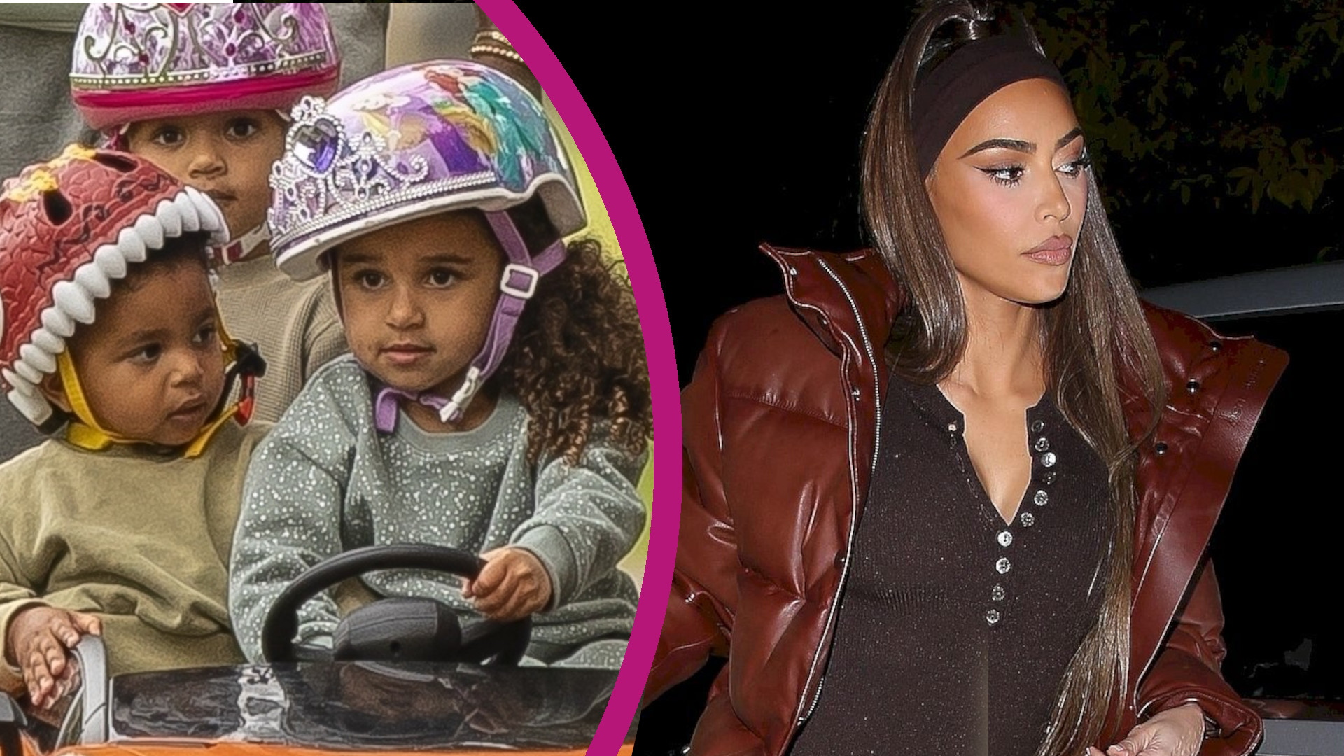 Dzieci Kim i Kanye mają NOWE opiekunki. Powód zaskakuje (ZDJĘCIA)