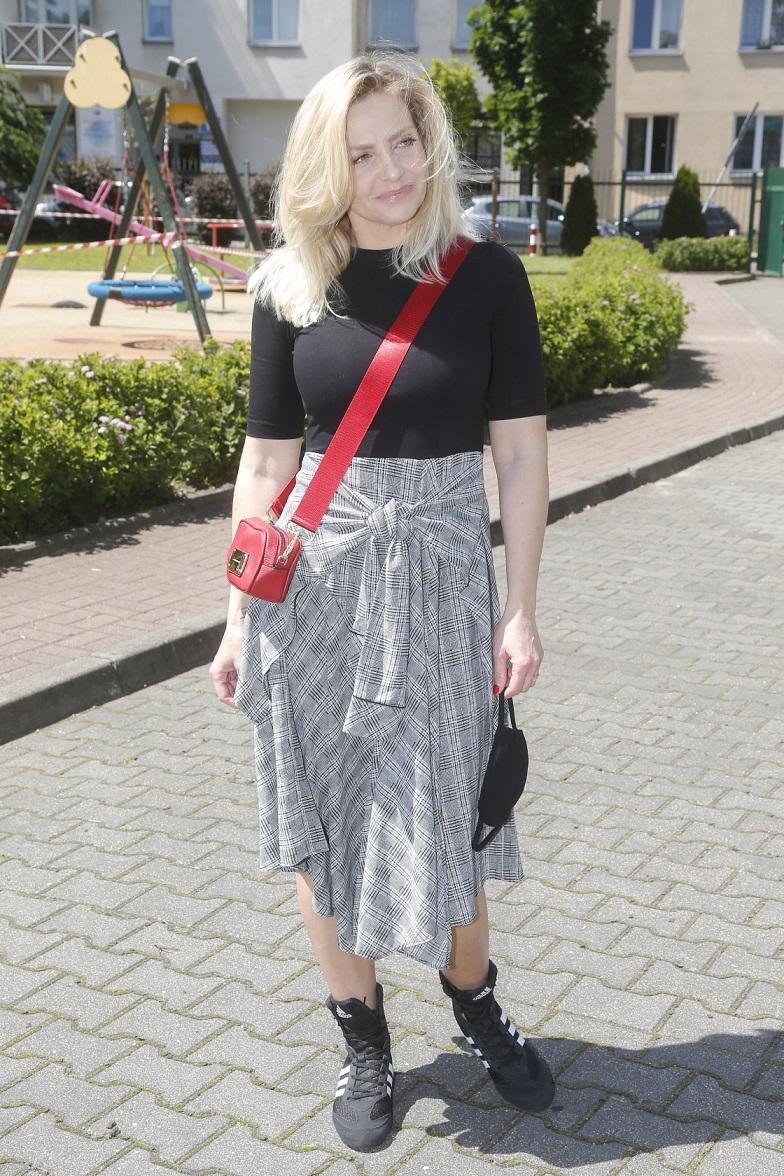 Maja Frykowska o serialu Osiecka