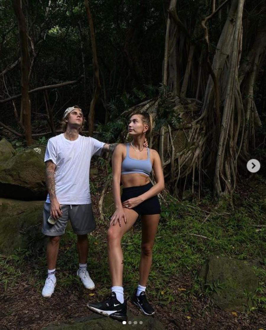 Bieberowie na Hawajach.